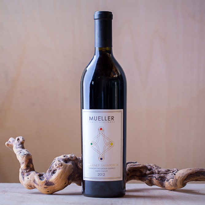mueller diamond mountain cabernet sauvignon wine napa valley
