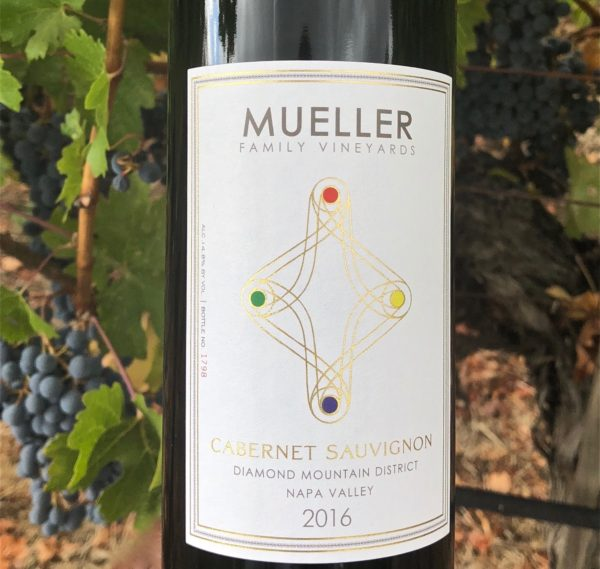Mueller family vineyards 2016 cabernet sauvignon